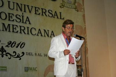 Antonio García Vargas, Premio de la Sociedad Internacional de Poetas Escritores y Artistas, CUPHI 2010